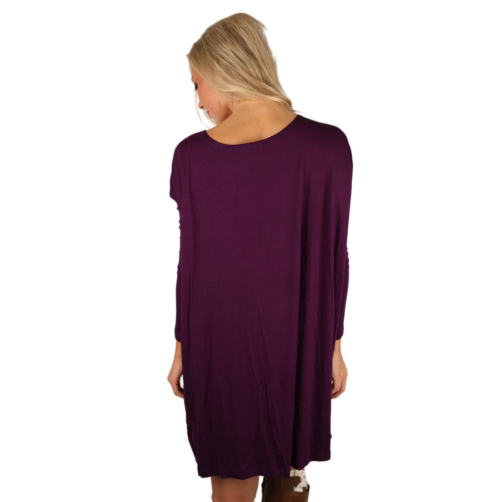 Perfect Little Tunic in Purple
