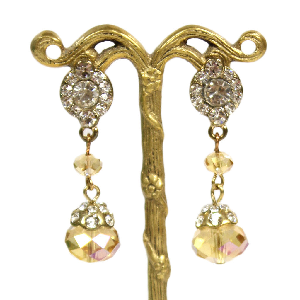 Glitz Drop Earring