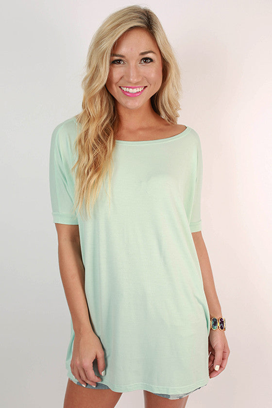 PIKO Short Sleeve Tee in Mint