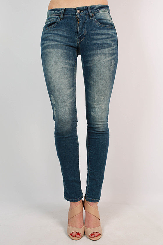 Paper Washed Skinny Jean