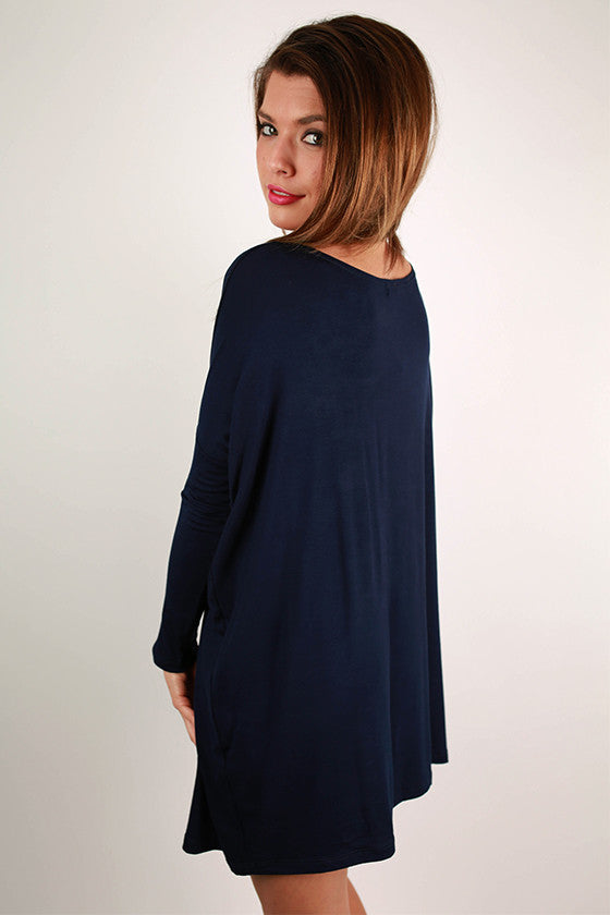 Perfect Little Tunic in Navy