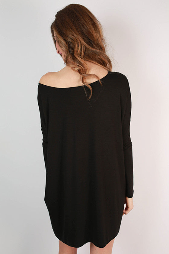 Perfect Little Tunic in Black