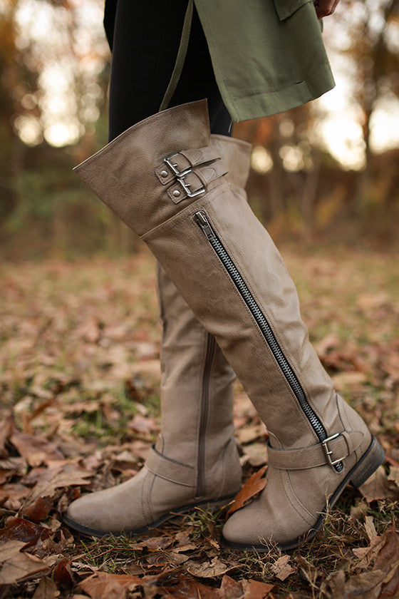Park Avenue Boot Beige