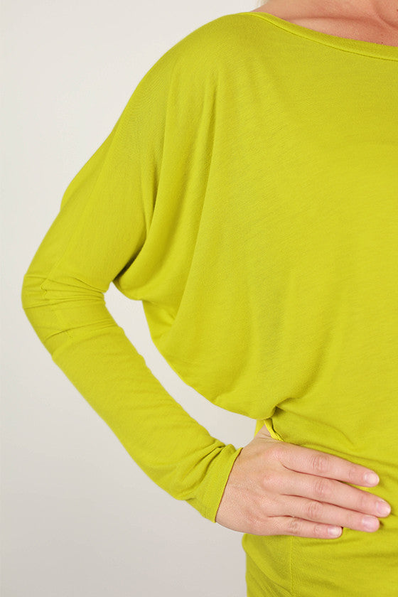 Crush Worthy Tunic Lime Green
