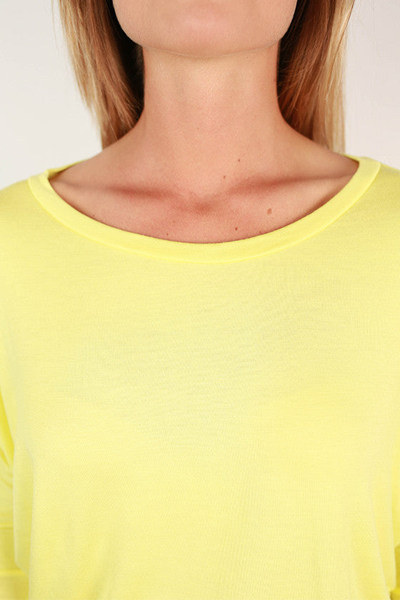 Crush Worthy Tunic Yellow