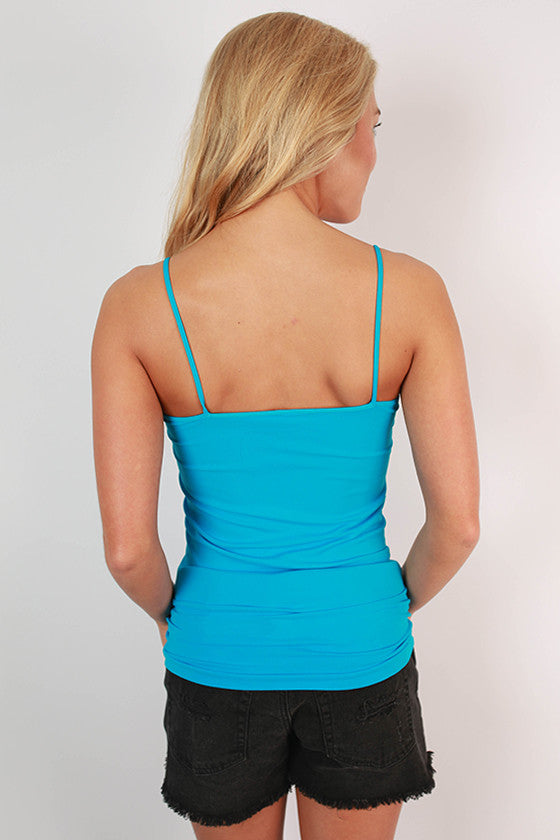 Seamless Cami Electric Blue