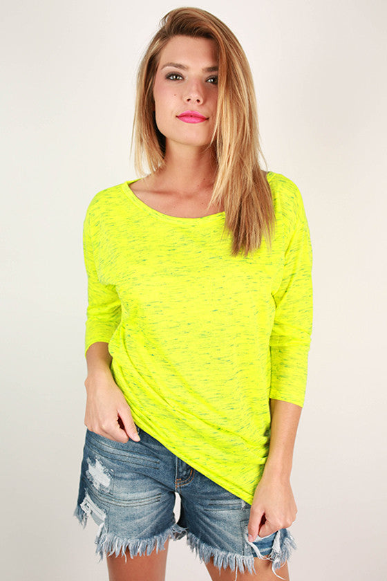 Sweetheart Tee Yellow