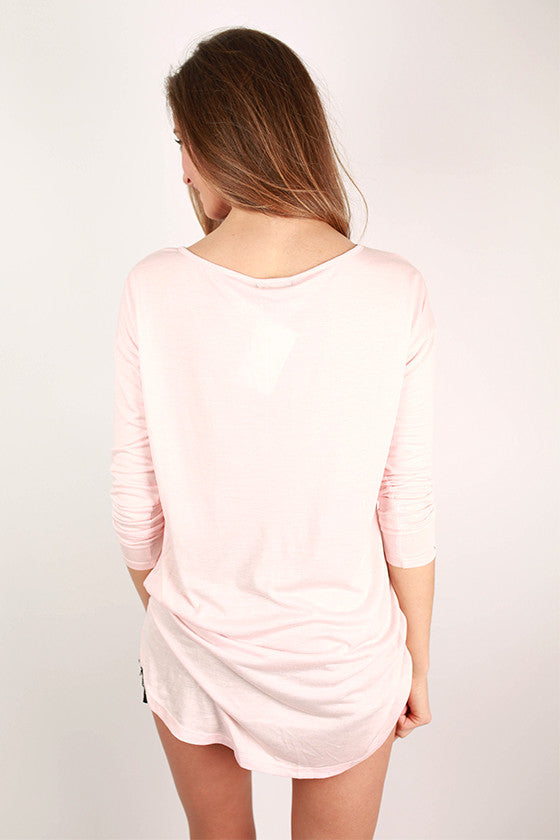Love at First Sight Tee Blush