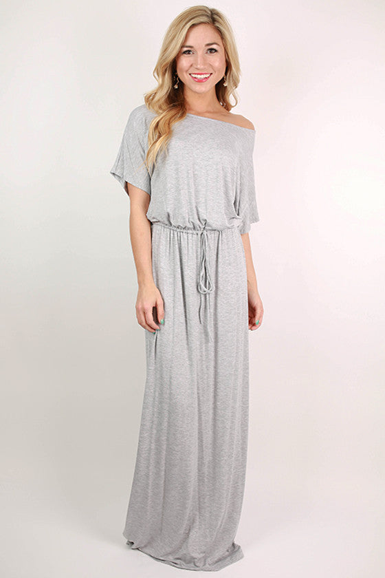 East Meets Best Maxi Dress in Grey