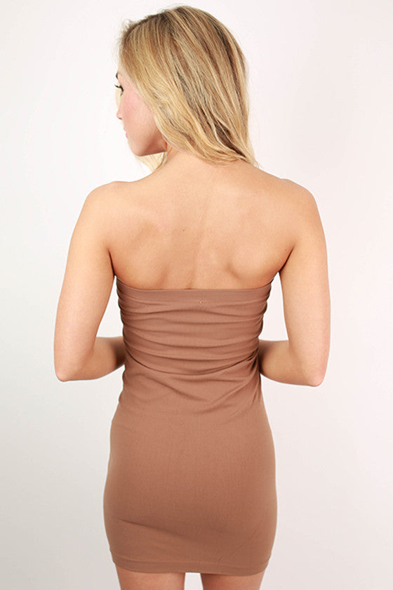 Seamless Jersey Tube Dress