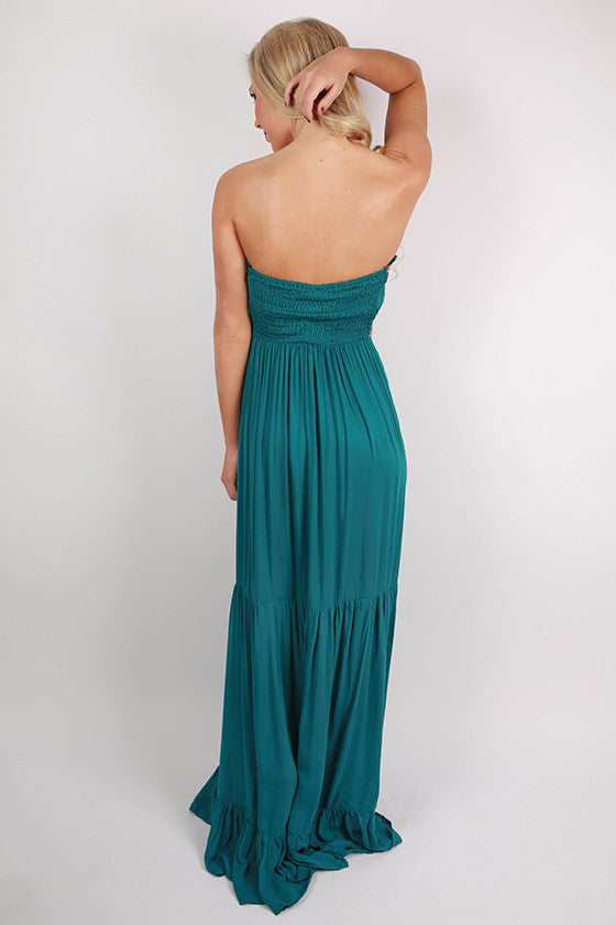 A Wonderful Life Maxi in Teal