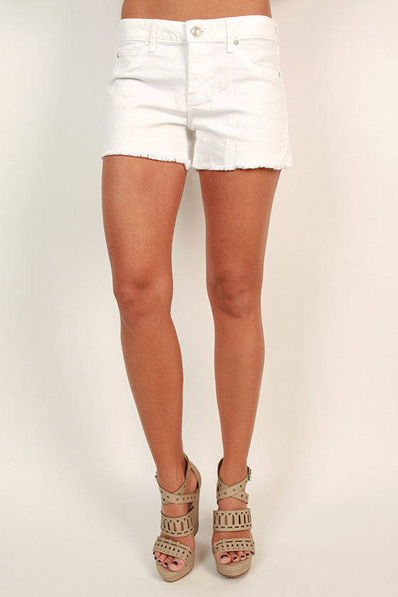 Madre Short in Optic White