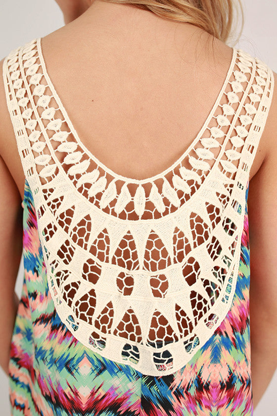 Keeping It Breezy Pattern Tank
