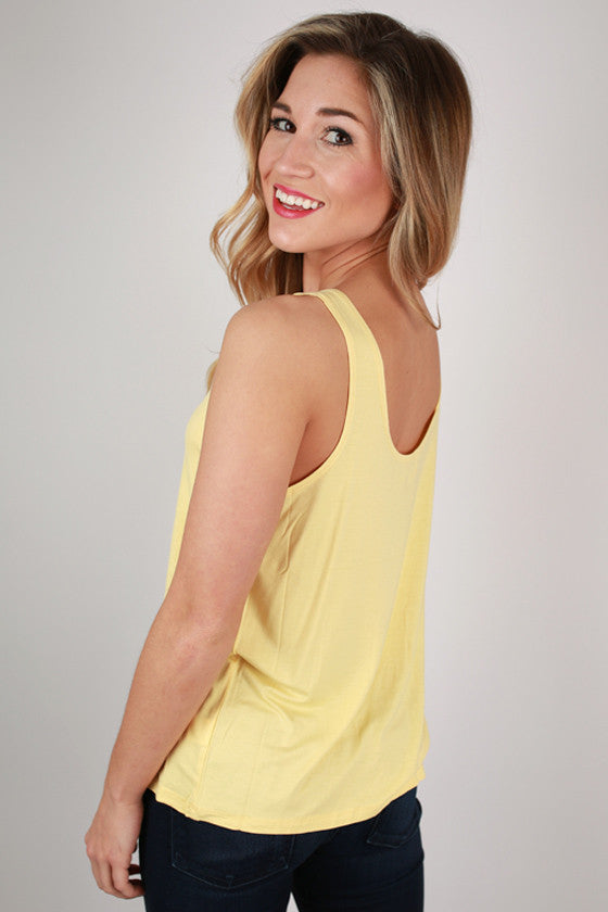 PIKO Tank in Pastel Yellow