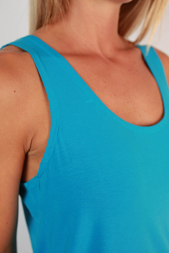 PIKO Tank in Bright Blue