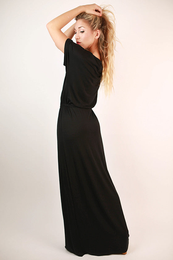 East Meets Best Maxi Dress in Black