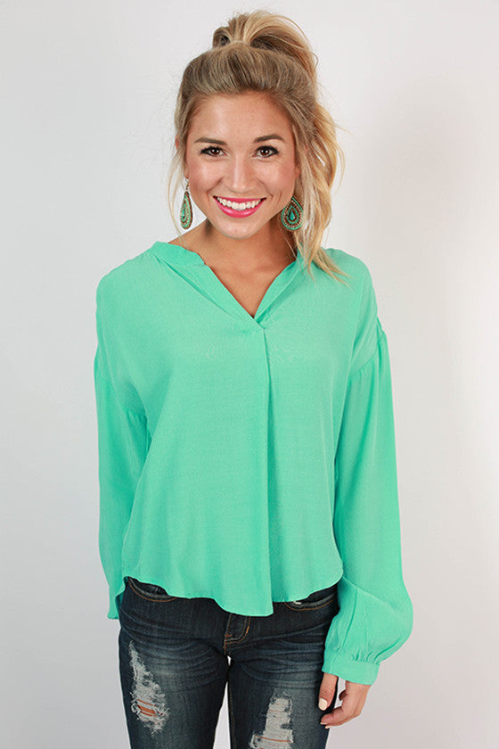 Style Is Forever in Seafoam
