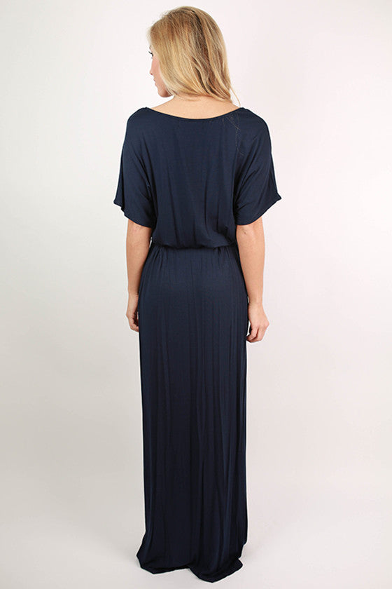 East Meets Best Maxi Dress in Navy