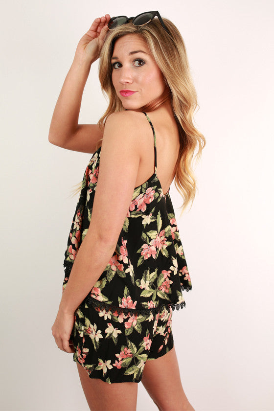Love Birds Romper
