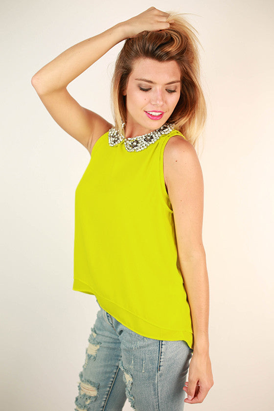 Holy Chic Top in Lime
