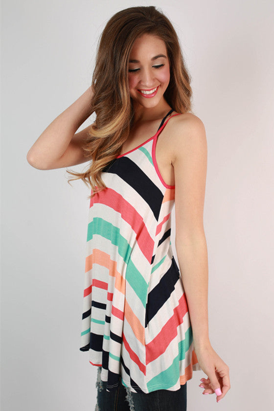 Stripe Love Affair Tank
