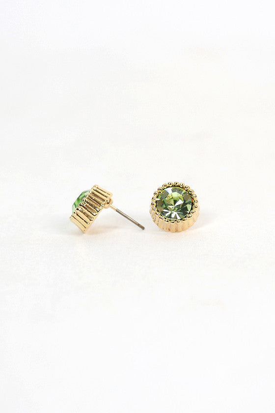 Blissful Day Earrings in Sage