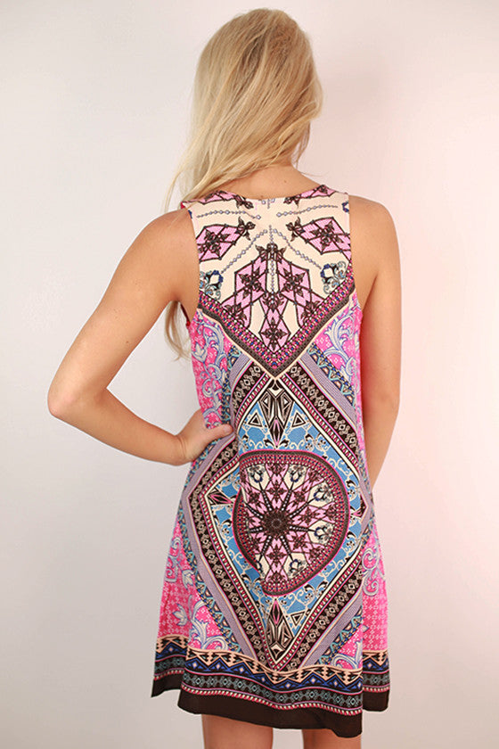 Polished To Perfection Dress in Pink
