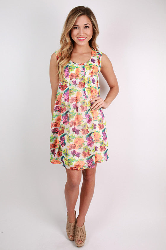 Flower Fields Forever Dress