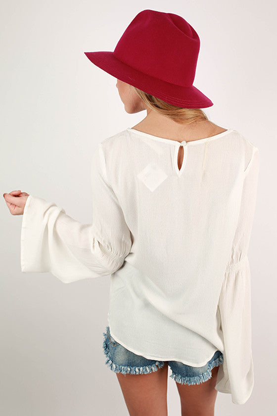 The Woodstock Top White