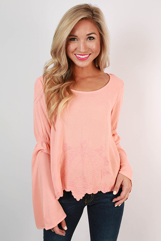 The Woodstock Top Peach