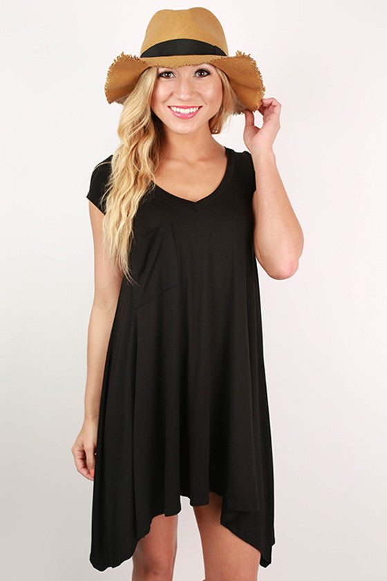 Styled So Pretty Tunic in Black