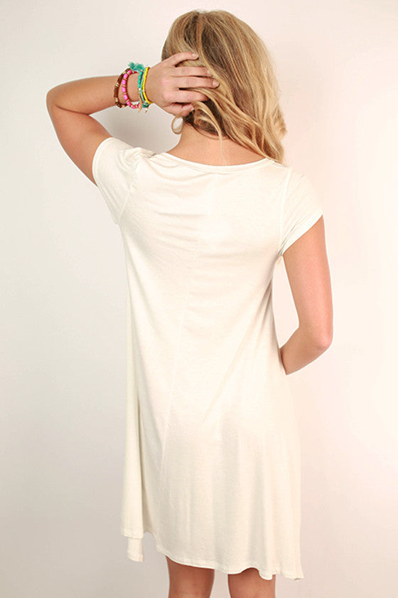 Styled So Pretty Tunic in White