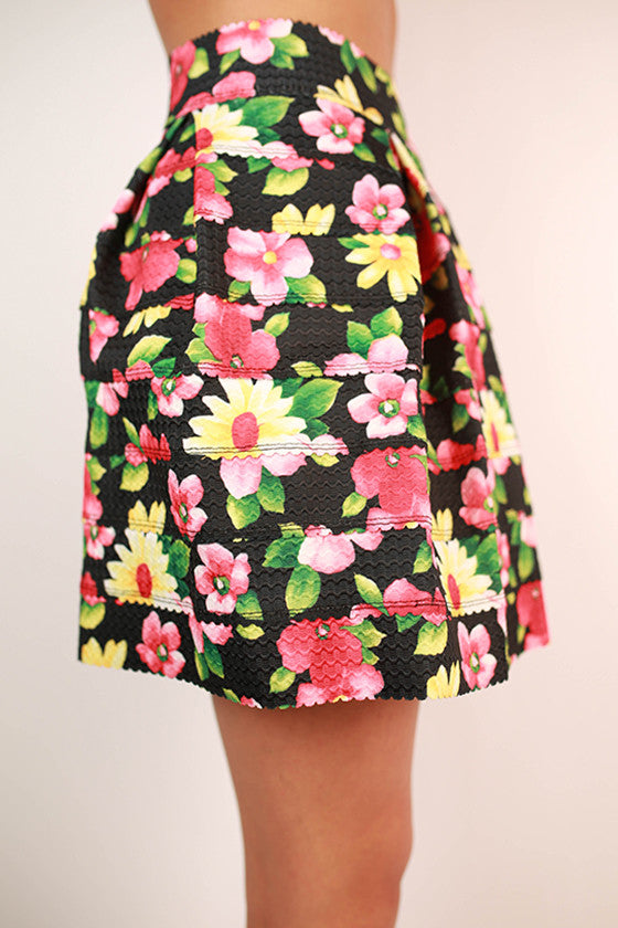 Got To Have It Skirt in Floral
