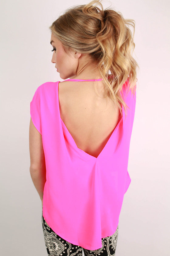 Bright & Beautiful Top Pink