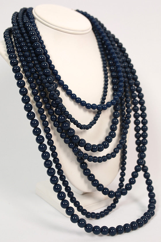 Tangle Me Up in Navy