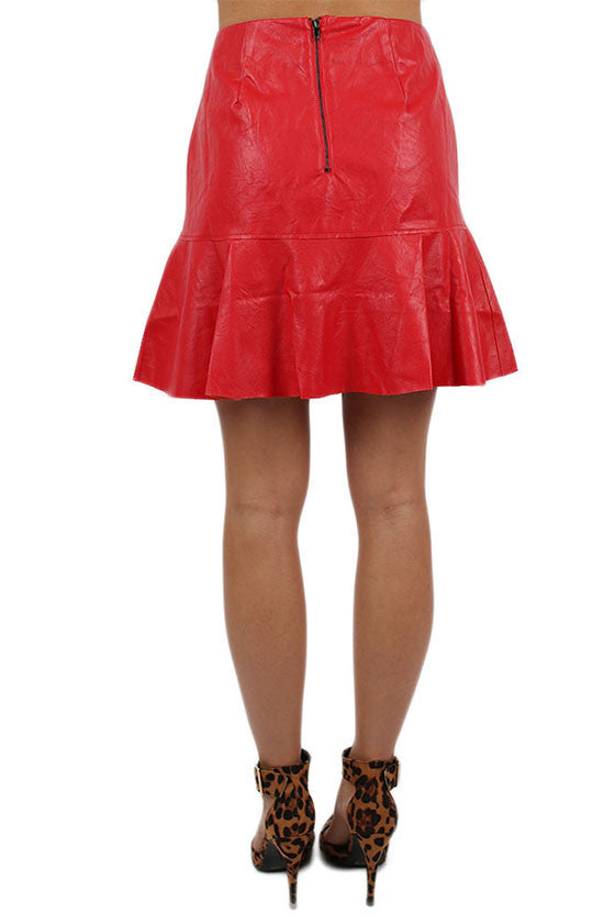 Lap of Luxury Skirt Red