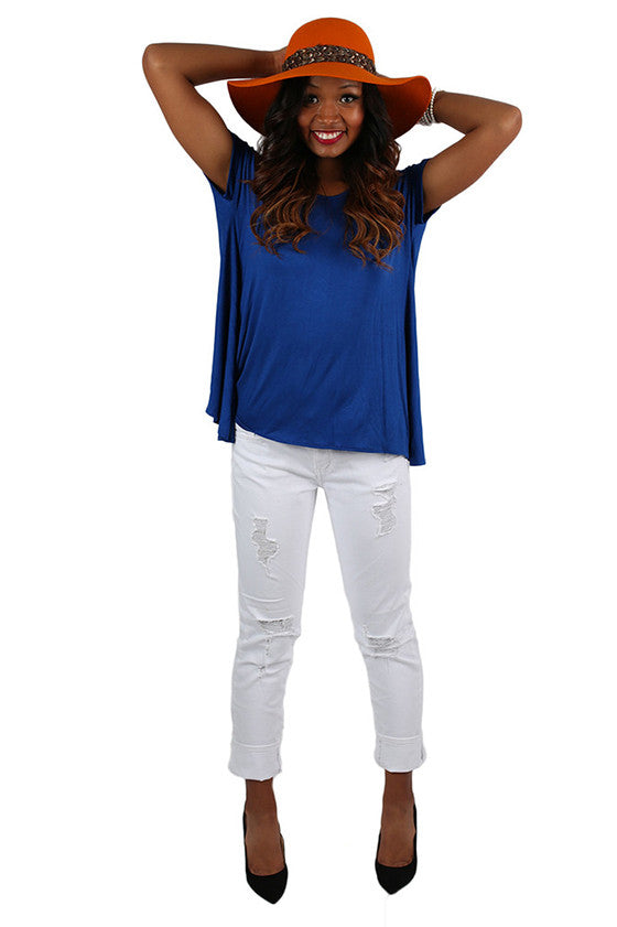 Team Spirit Tee Royal Blue
