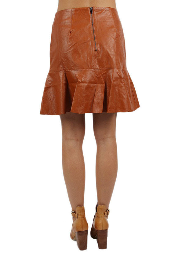 Lap of Luxury Skirt Camel
