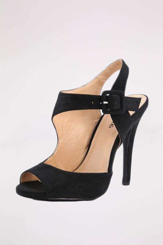 Keeping You On Your Toes Heel in Black
