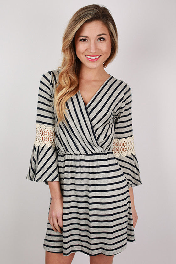 Beautiful in Stripes Dress