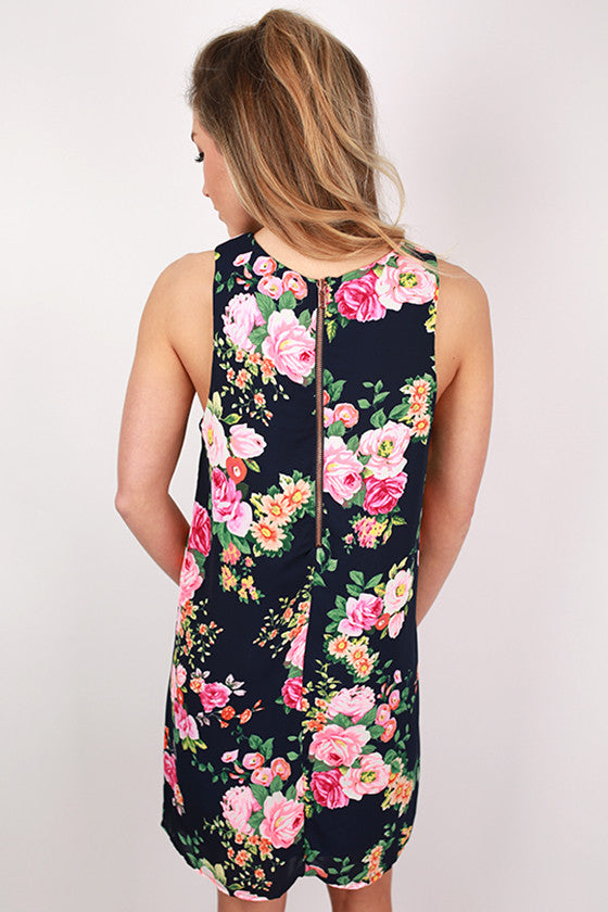 Craving Floral Shift Dress