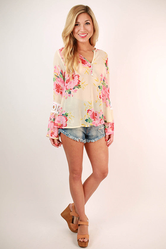 Lily Palm Top