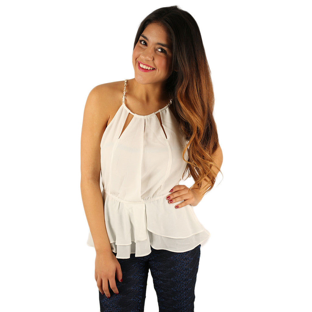 Oh My Chic Top Ivory