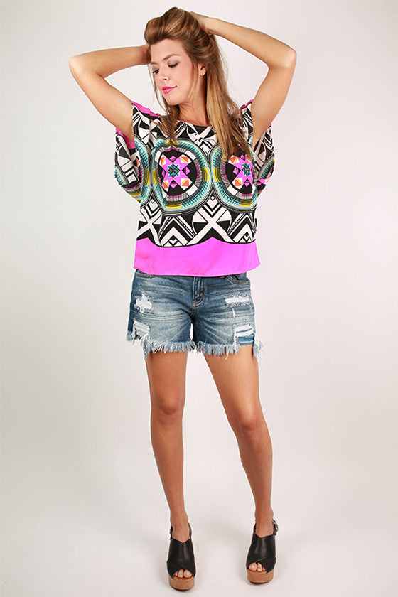 West Coast Glam Top