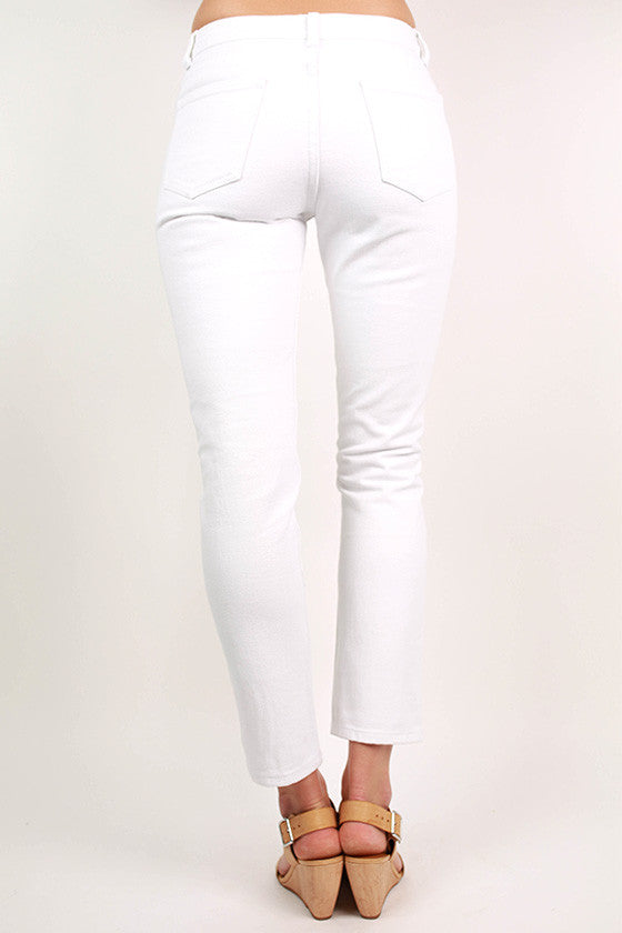 Fit Me Perfect Roll Up Skinnies