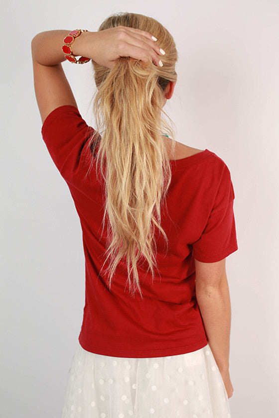 Retro Arkansas Boyfriend Tee