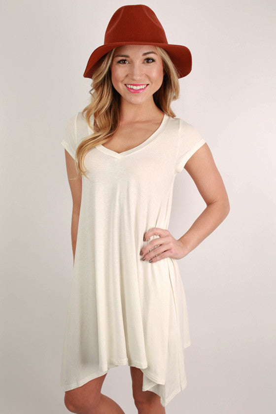 I'm Flawless Tunic in White
