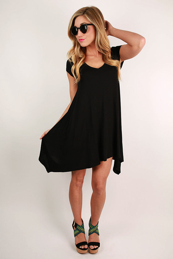 I'm Flawless Tunic in Black