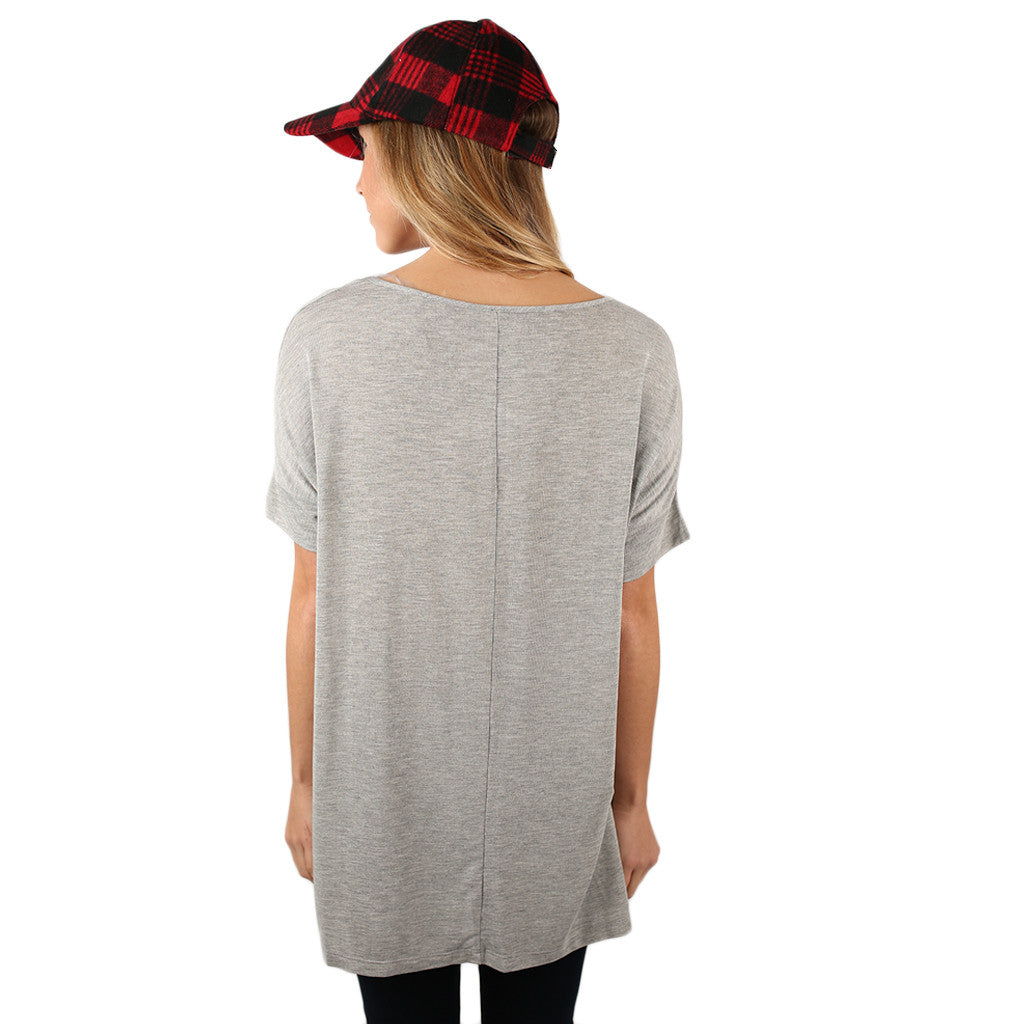 Sweeter than Sugar Tee Heather Grey