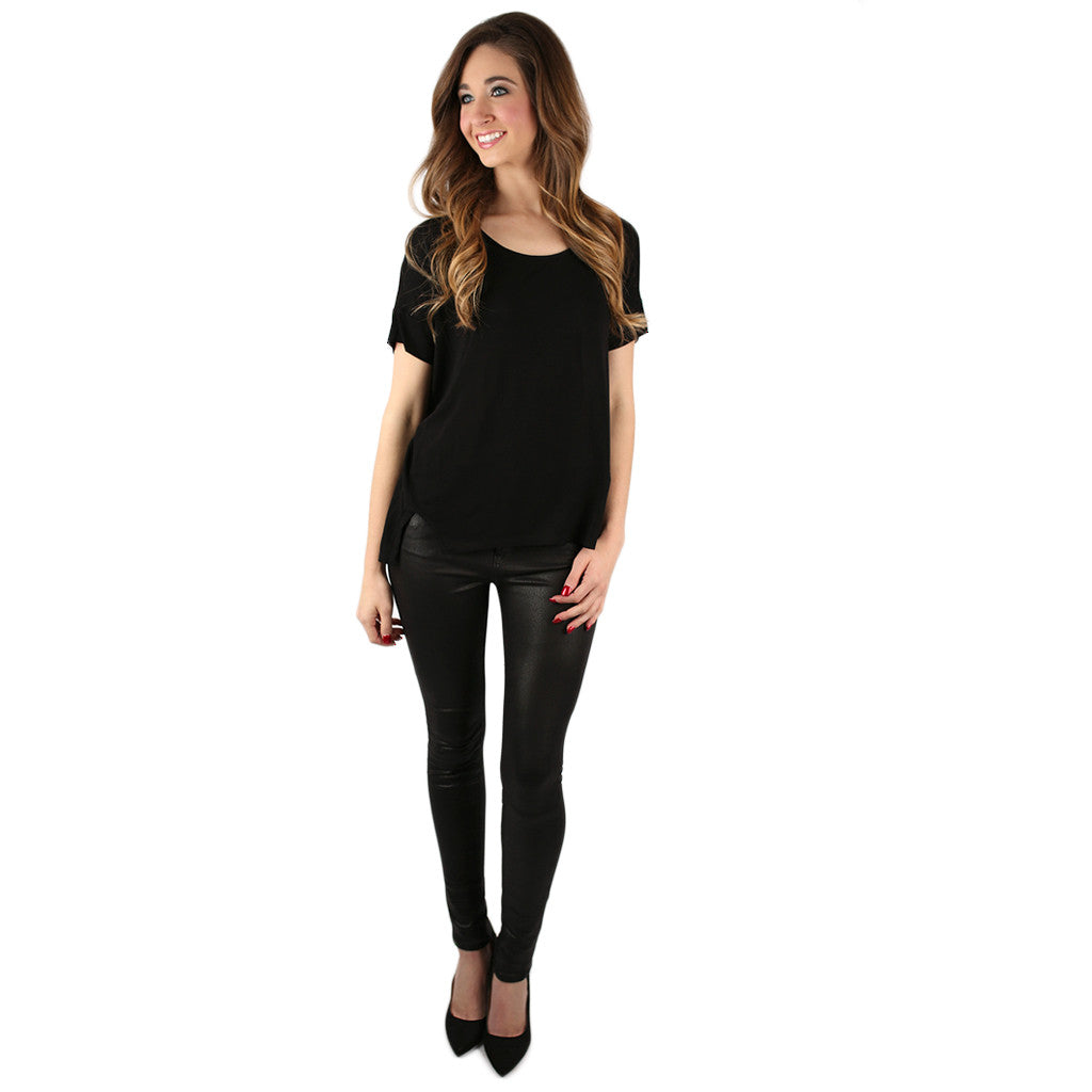 Sweeter than Sugar Tee Black